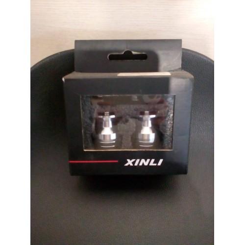 Αντίβαρα Τιμονίου Xinli XL Aσημί